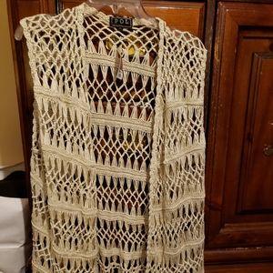 Women's crocheted vest